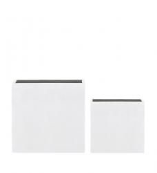 blumenk bel quadratisch hoch wei im greenbop online shop kaufen. Black Bedroom Furniture Sets. Home Design Ideas