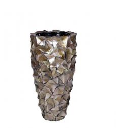 Bodenvase Perlmutt Muscheln h 70 x Ø 40 cm