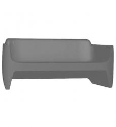 Outdoor Sofa Translation 180 cm grau (7003)