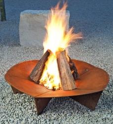 Design Feuerschale bloom