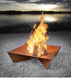 Design Feuerstelle fluxus