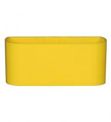 Magnetischer Pflanz-Kasten groß - 22 cm | gelb