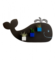 KalaMitica Metallplatte Wal