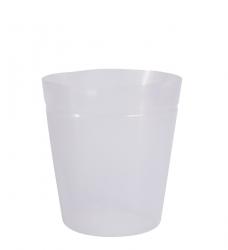 Kunststoffeinsatz transparent hoch Ø 35cm x 40cm hoch