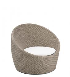 Lounge Sessel beige SKAGERAK