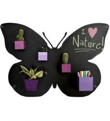 KalaMitica Metallplatte Schmetterling