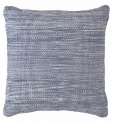 Dash & Albert Outdoor-Kissen blau 56x56 cm