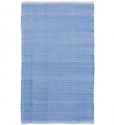 Outdoor Teppich Herringbone 120x180 cm blau
