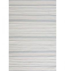 Outdoor Teppich Rugby Stripe hellblau gestreift