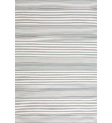 Outdoor Teppich Läufer Streifen 76 x 244 cm