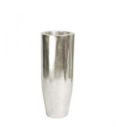 Bodenvase silber PANDORA 90 x 35 cm (h x Ø)