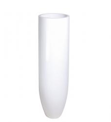 Bodenvase weiß PANDORA h 125 x Ø 35 cm