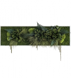 Pflanzenbild 140 x 40cm