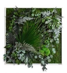 Pflanzenbild 80 x 80 cm
