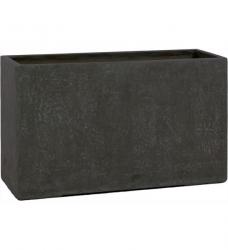 pflanzk bel beton eckig anthrazit im greenbop online shop kaufen. Black Bedroom Furniture Sets. Home Design Ideas