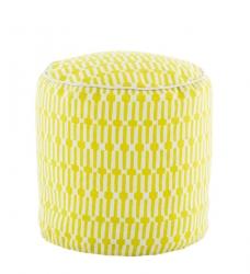Sitzpouf gelb D:50 cm