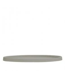 Untersetzer rund grau | L - Ø 43,5