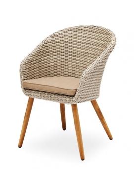 gartenstuhl retro halbrund geflecht im greenbop online. Black Bedroom Furniture Sets. Home Design Ideas