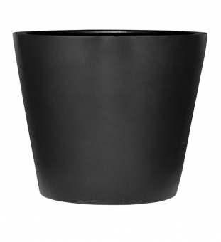 Blumentopf schwarz Ø 29 x h 23 cm