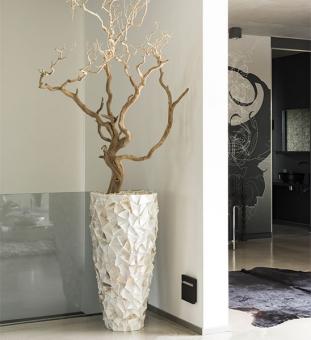 bodenvase perlmutt muscheln creme im greenbop online shop kaufen. Black Bedroom Furniture Sets. Home Design Ideas