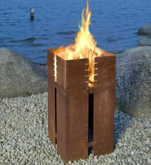 Design Feuerkorb ferrum