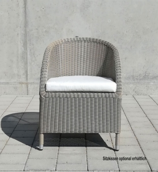 gartensessel geflecht taupe im greenbop online shop kaufen. Black Bedroom Furniture Sets. Home Design Ideas