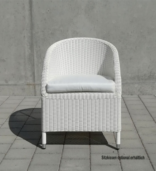 gartensessel geflecht wei im greenbop online shop kaufen. Black Bedroom Furniture Sets. Home Design Ideas