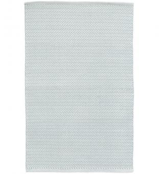 Outdoor Teppich Herringbone hellblau 120 x 180 cm