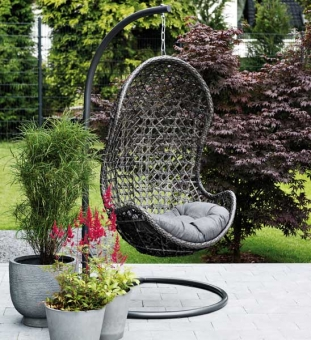 outdoor h ngesessel grau im greenbop online shop kaufen. Black Bedroom Furniture Sets. Home Design Ideas
