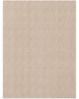In- & Outdoor Teppich Petit Diamond khaki 60 x 90 cm
