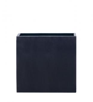 Blumenkübel lang hoch schwarz 80 x 40 x 80cm (L/B/H)