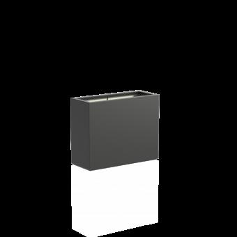 Pflanzkübel Fiberglas BUXUS anthrazit 100 x 40 x 80 (L/B/H)