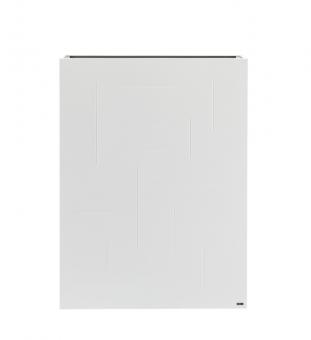 Pflanzkübel Raumteiler weiß Metall 82 x 29 x 110cm (B / T / H)