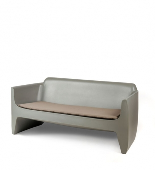 Outdoor Sofa Translation 180 cm grau (7042)
