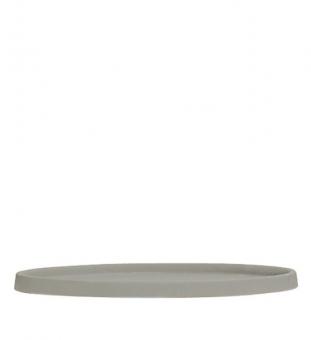 Untersetzer rund grau   L - Ø 43,5