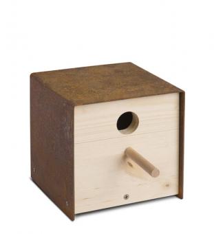 Vogel Nistkasten Holz twitter.iron