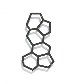 Wandspalier Metall ONYX 35 x 63 cm (Onyx 60)