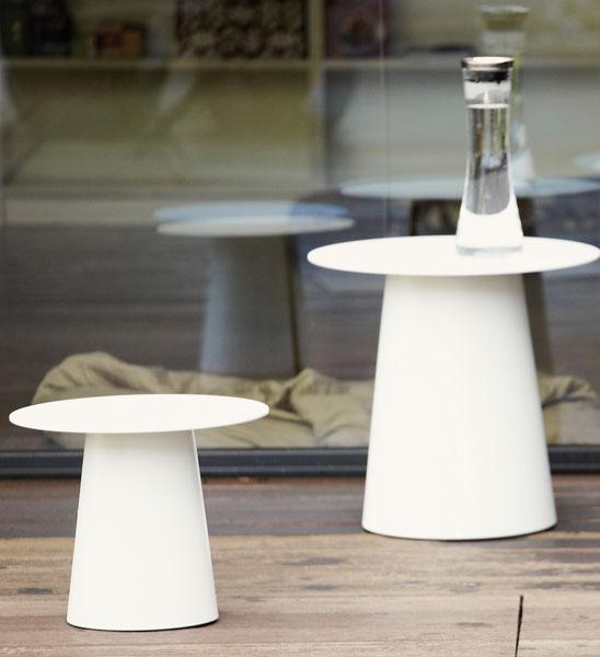 design beistelltisch garten alu wei im greenbop online. Black Bedroom Furniture Sets. Home Design Ideas