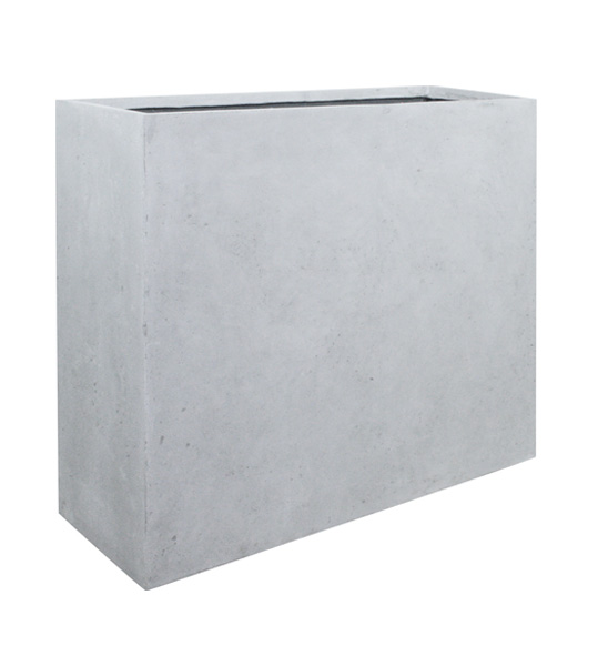 Blumenkübel DIVIDE grau 100x35/80 cm | im Greenbop Online Shop kaufen