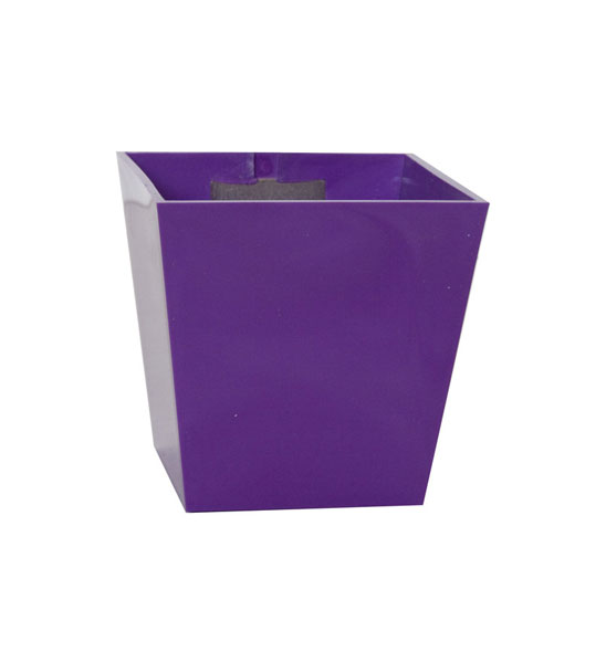 magnetischer blumentopf pyramide gro 9 5cm violett im greenbop online shop kaufen. Black Bedroom Furniture Sets. Home Design Ideas