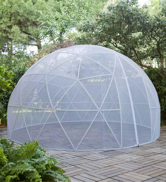 Garden Igloo | Im Greenbop Online Shop Kaufen Garten Pavillon Als Uberdachung Iglu Folie Bilder
