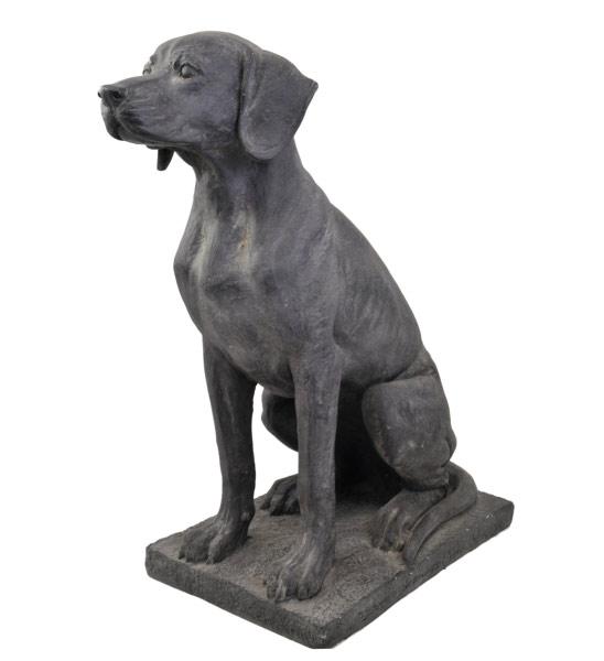 Gartenfigur hund im greenbop online shop kaufen - Gartenfiguren holz ...