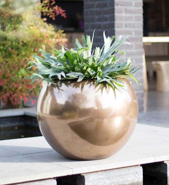 Fleur Ami pflanzkugel fleur ami bronze im greenbop shop kaufen