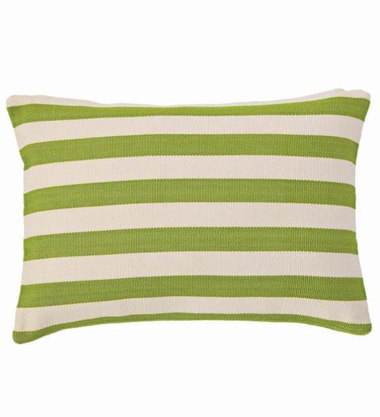 outdoor kissen gr n gestreift 60x40 cm im greenbop online shop kaufen. Black Bedroom Furniture Sets. Home Design Ideas