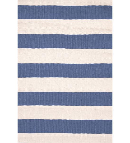 Teppich gestreift  Outdoor Teppich Rugby Stripe blau gestreift | im Greenbop Online ...