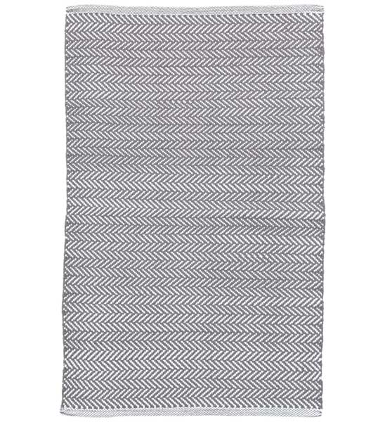 outdoor teppich herringbone dunkelgrau 60 x 90 cm im. Black Bedroom Furniture Sets. Home Design Ideas