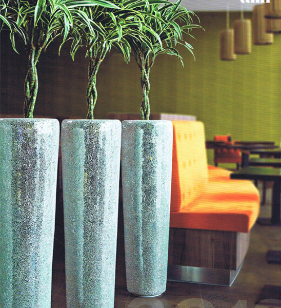 design bodenvase conical mirror im greenbop online shop kaufen. Black Bedroom Furniture Sets. Home Design Ideas