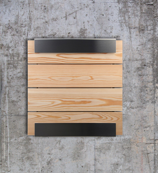 design briefkasten l rchenholz im greenbop online shop. Black Bedroom Furniture Sets. Home Design Ideas