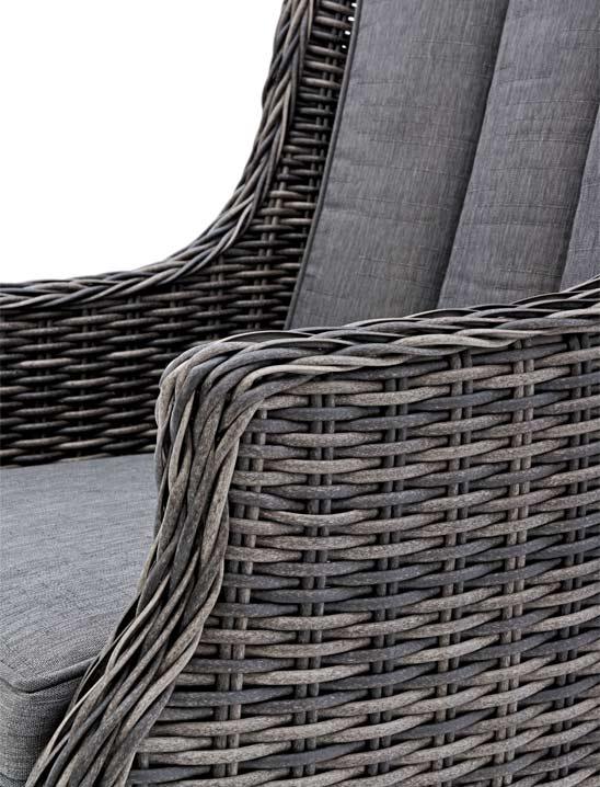 lounge sessel rattan grau im greenbop online shop kaufen. Black Bedroom Furniture Sets. Home Design Ideas