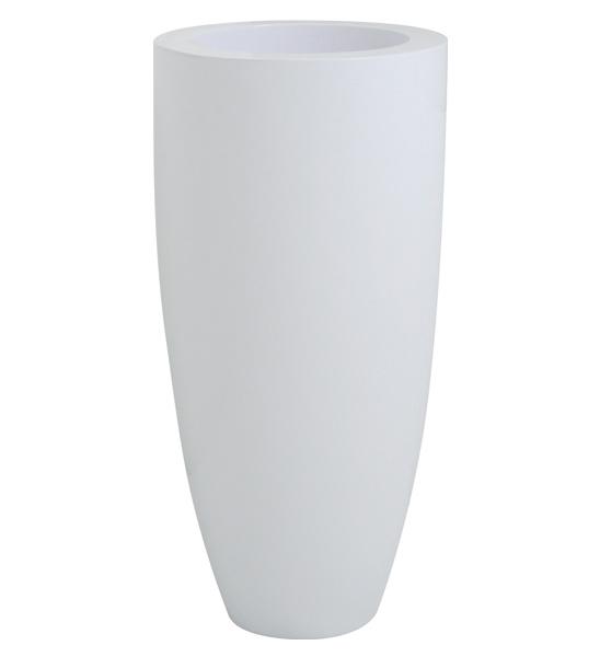 pflanzk bel kunststoff 39 luna 39 wei fleur ami im greenbop. Black Bedroom Furniture Sets. Home Design Ideas